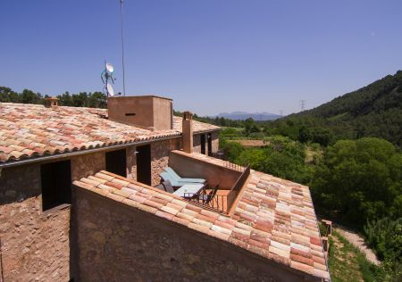 Private terrace apartment El Castell